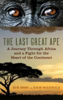 The Last Great Ape - the book