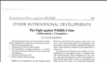 Article at Environmental Policy at Law