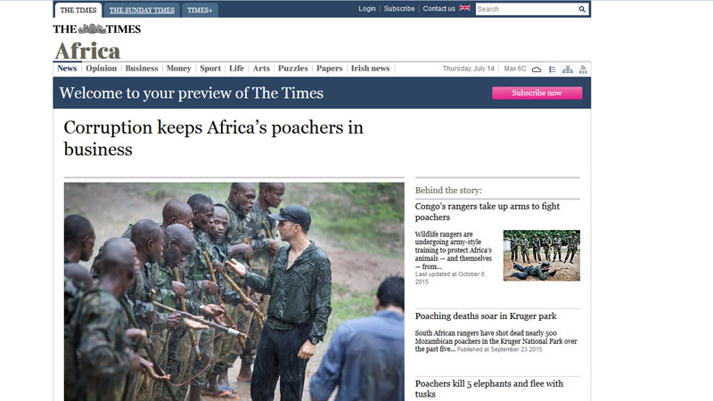 Corruption keeps Africa's poachers in business