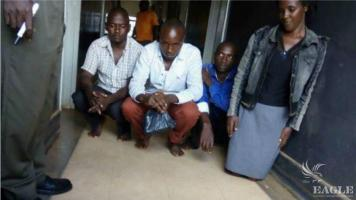 4 traffickers arrested with 8kg Ivory and 13kg hippo teeth.
