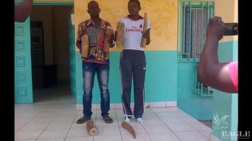 Two ivory traffickers arrested in Mekambo