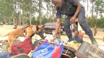 Drunken police officer arrested with leopard skin